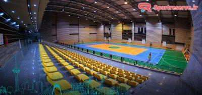 لیست آدرس سالن های ورزشی تهران