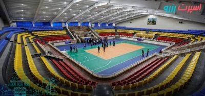 آدرس سالن های ورزشی زنجان