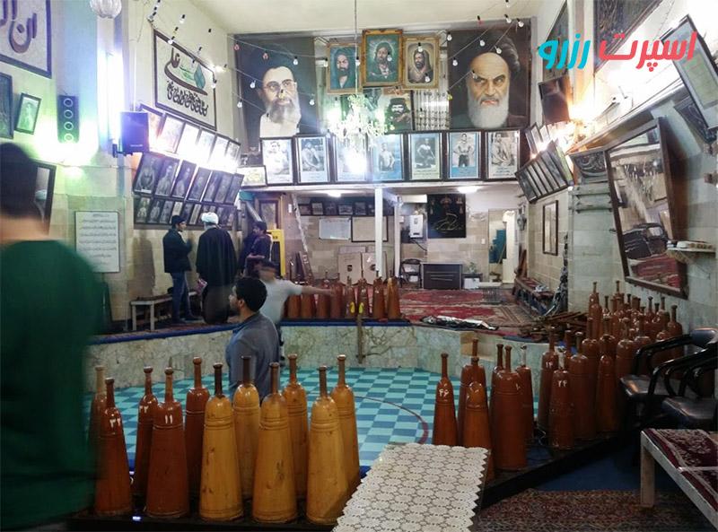زورخانه شهدای مشهد لیست آدرس زورخانه های مشهد
